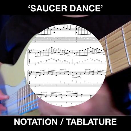 Saucer Dance / California Sundance Tabs & Notation