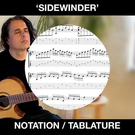 SIDEWINDER (Rumba Flamenca) Tabs & Notation