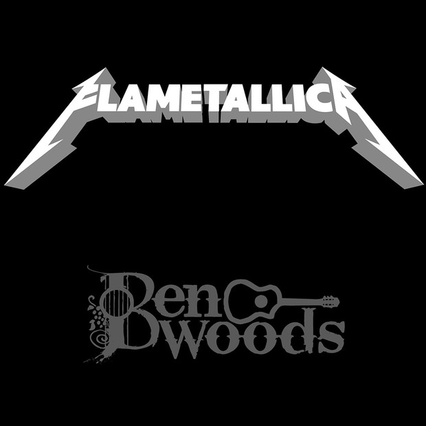 FLAMETALLICA album download.  Flamenco Guitar-Metallica by Ben Woods