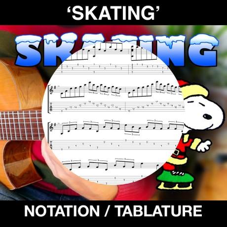 SKATING (tabs & notation)