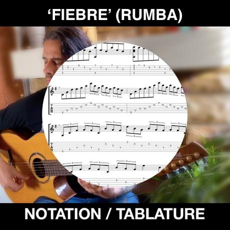 FIEBRE (Rumba Flamenca) Simple Song - Tabs & Notation