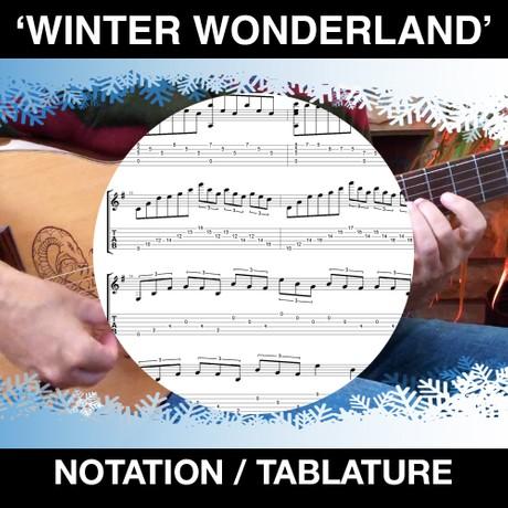 Winter Wonderland (TABS & NOTATION)