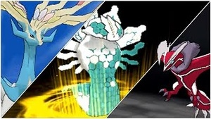 Shiny Legendary Pokemon Trio (Any Trio Of Your Choice)