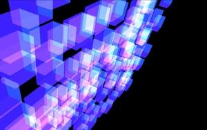 Reactive Cube Grid - Quartz Composer