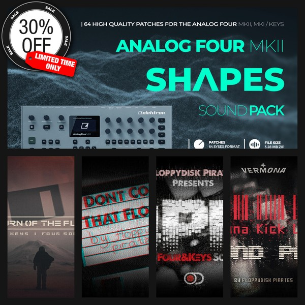 All in One Bundle - 680 New Analog Four/Keys patches included! Buy the entire bundle and save 30%