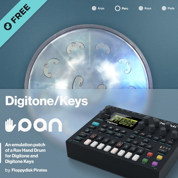 Elektron Digitone/Digitone Keys Handpan Emulation Patch (Free Download)