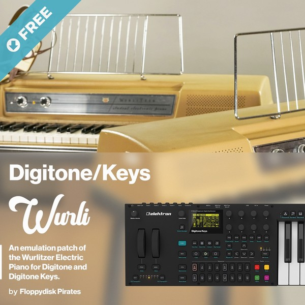 Elektron Digitone/Digitone Keys Wurli Emulation Patch (Free Download)