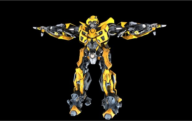 FREE Bumblebee Transformers 3D MODEL for you wallpaper - EliX™