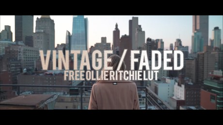 FREE Ollie Ritchie Inspired Color Grading LUT