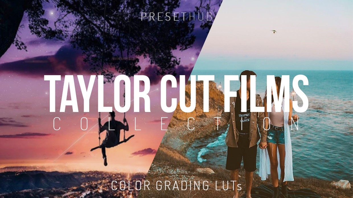 TaylorCutFilms Color Grading LUT!