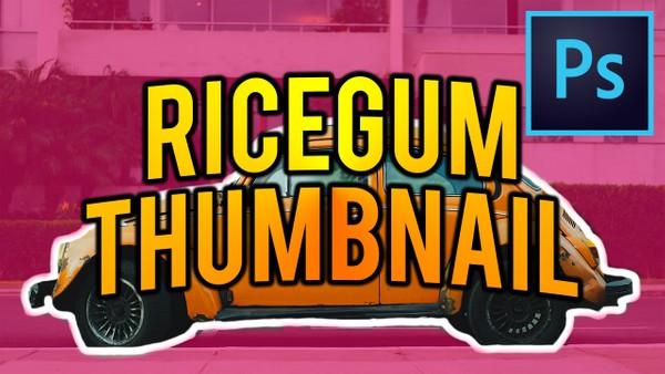 RICEGUM'S THUMBNAIL TEMPLATE