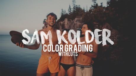 Sam Kolder Color Grading LUT Pack