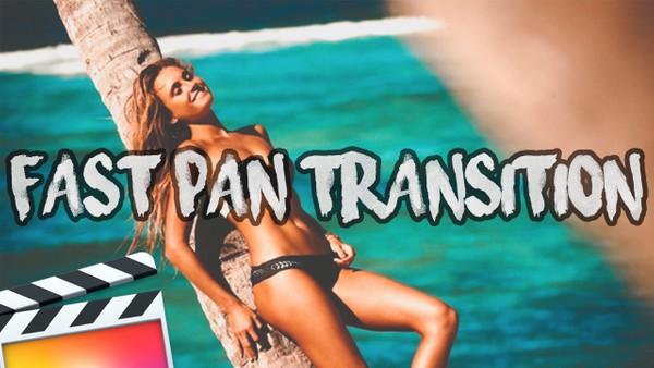 FREE Epic Fast Camera Pan Transition Pack - Final Cut Pro X