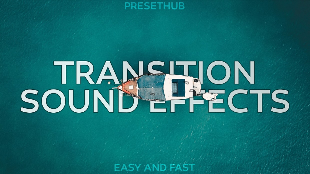 Transition Sounds Effects! | Whoosh, Glitch