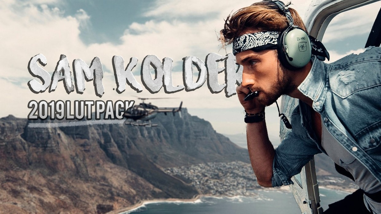 Sam Kolder 2019 LUT Pack