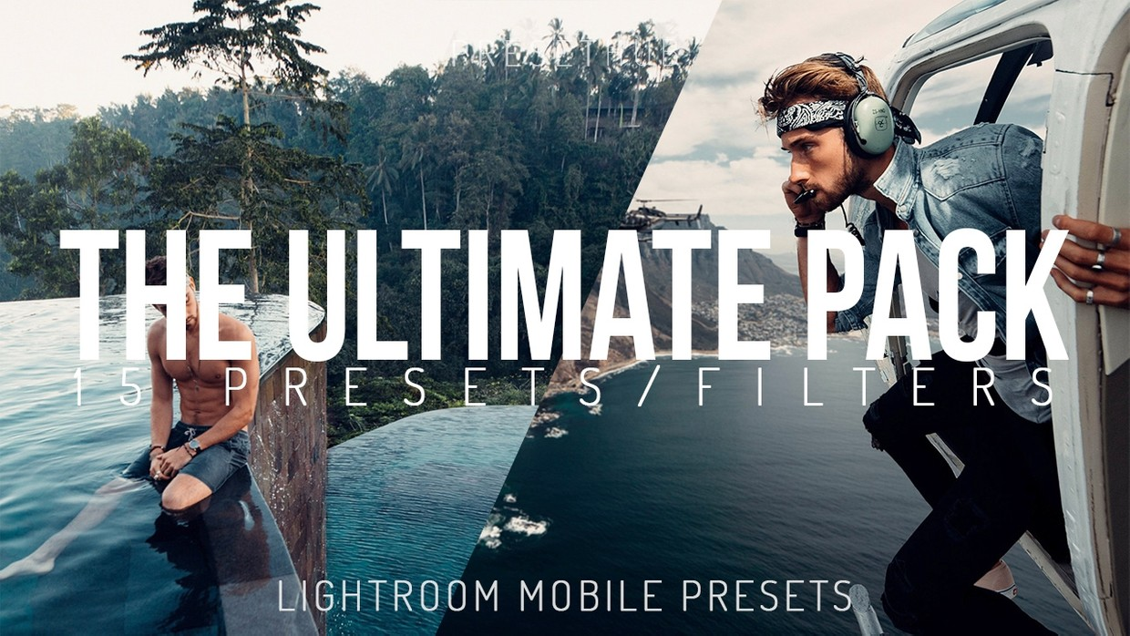 The ULTIMATE Lightroom Mobile Preset Pack