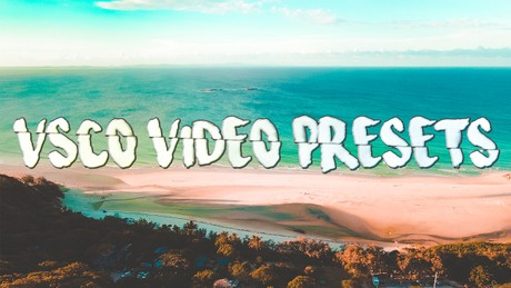 5 VSCO Video Presets!