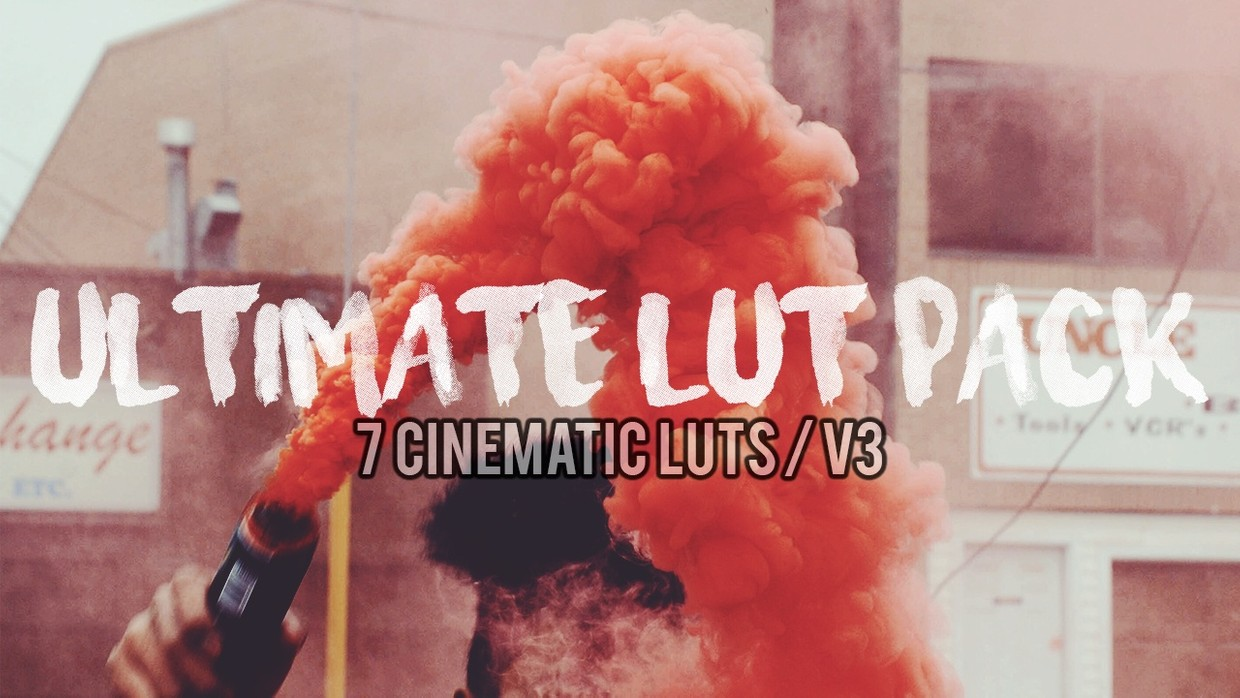 7 Cinematic LUTs • ULTIMATE LUT Pack v3