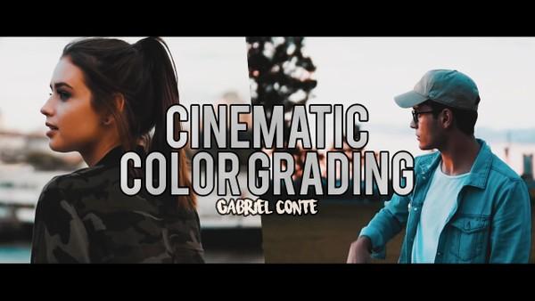 Gabriel Conte Cinematic Color Grading LUT