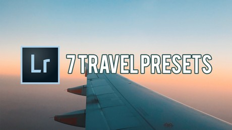 7 Travel Presets | Adobe Lightroom