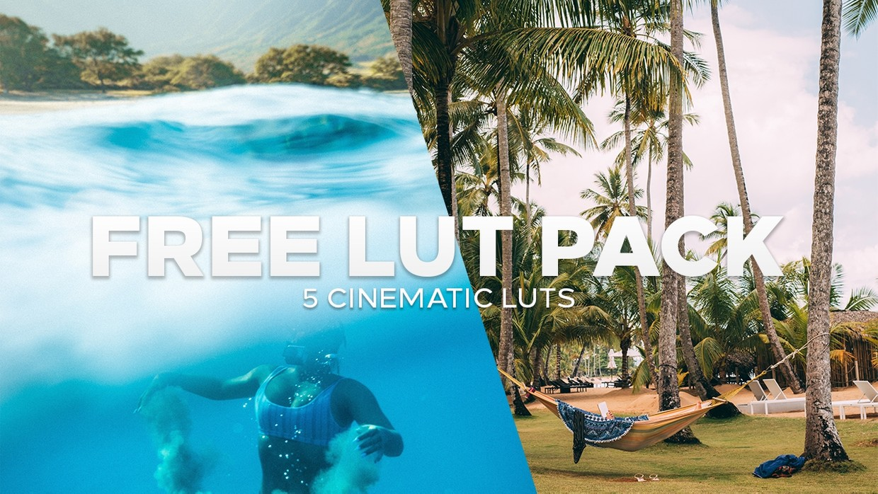 FREE Cinematic LUT Pack | 7 Free LUTs for Premiere Pro/FCPX 2019