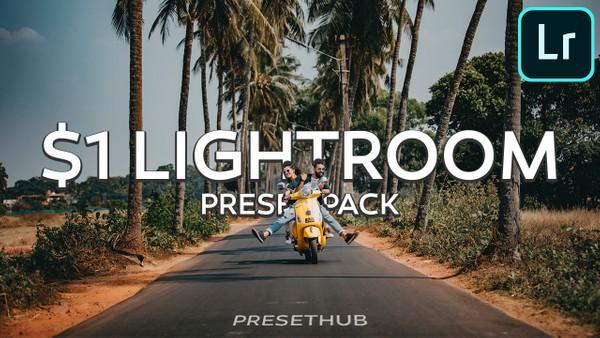 3 Lightroom Presets for $1
