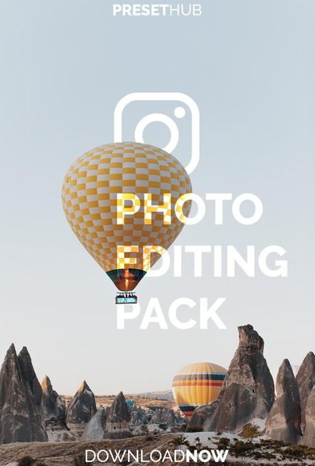 ULTIMATE Instagram Photo Editing Preset Pack