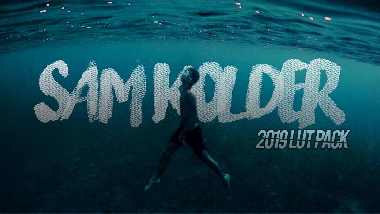 Sam Kolder 2019 LUT PACK! - v2