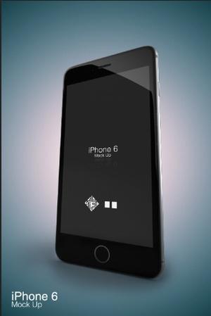 iPhone 6 - Studio Mock Up