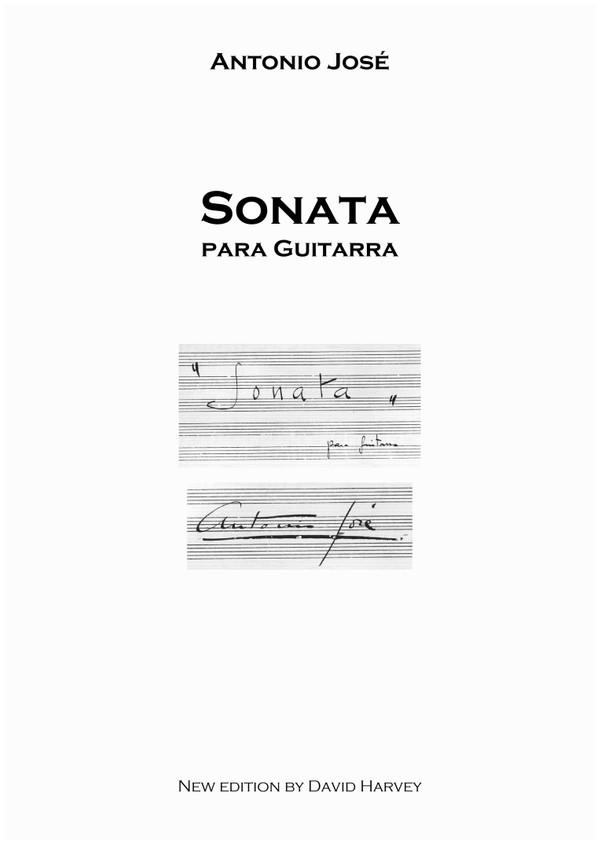 Antonio José - Sonata for Guitar (digital download)