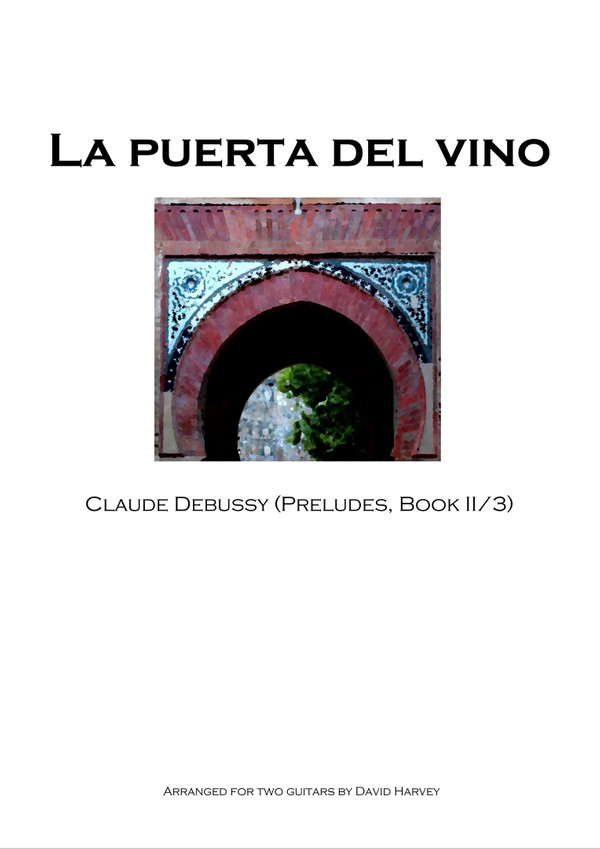 Claude Debussy - La Puerta del Vino (guitar duet - digital download)