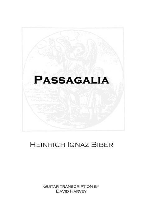 Heinrich Biber - Passagalia (digital download)