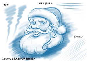 Georg's FREE SKETCH BRUSHES for Procreate