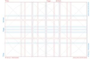 FREE Comic Layout Templates with Golden Ratio Layer for Procreate, PhotoShop + PNGs