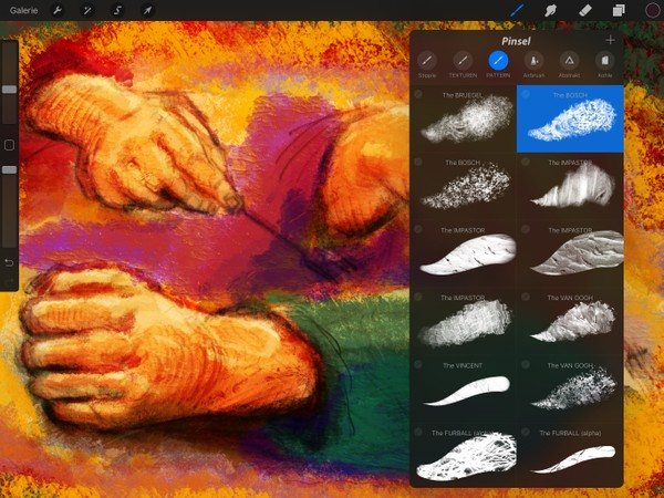40+ Texture & Pattern Brushes: