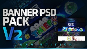 Banner PSD Pack v2! (SoaR Edition)