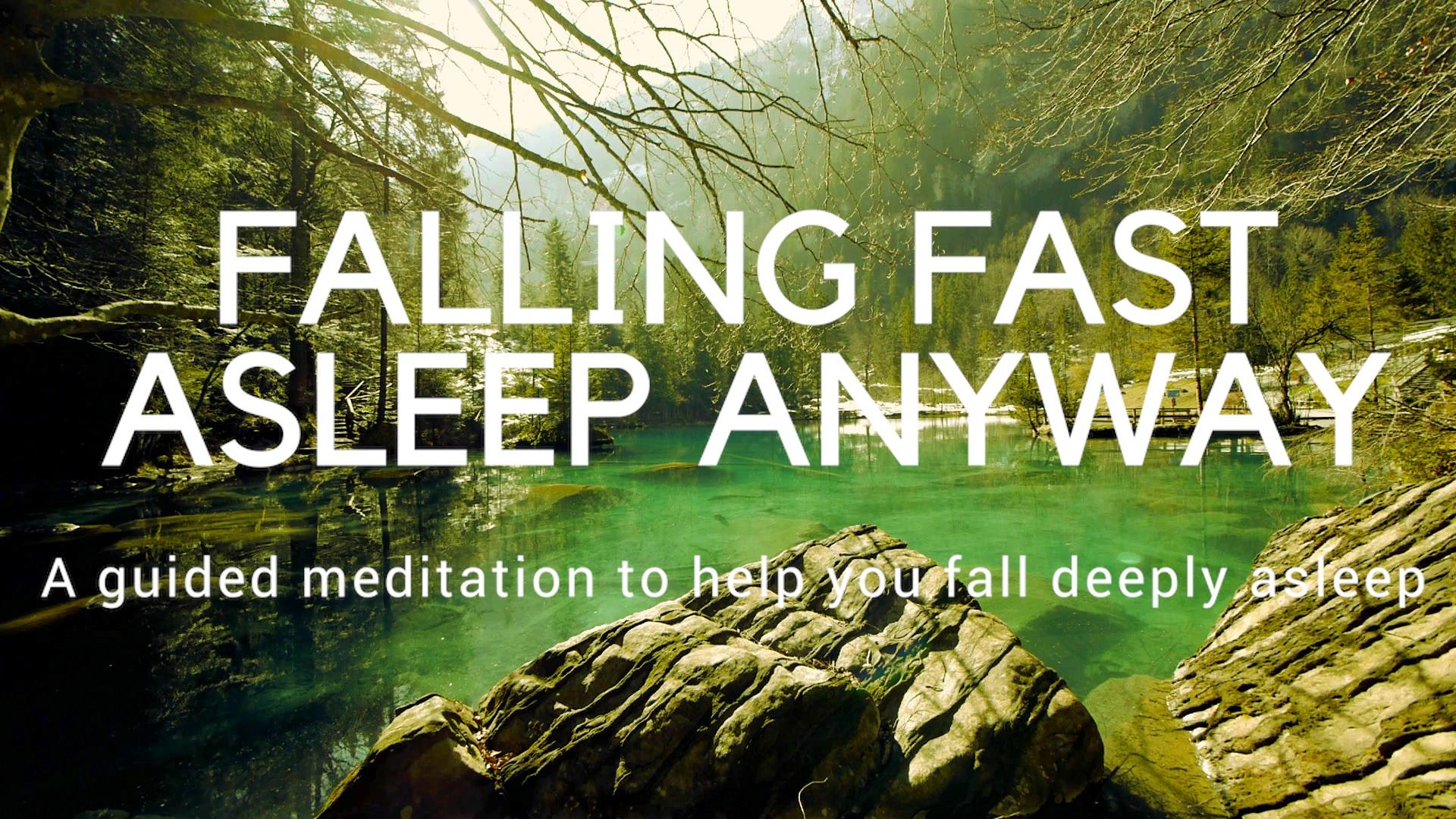 guided meditation to help sleep
