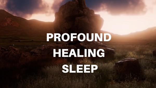 PROFOUND HEALING SLEEP GUIDED MEDITATION FOR DEEP FAST SLEEP, calming sleep meditation