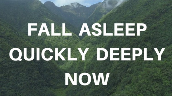 FALL ASLEEP QUICKLY DEEPLY NOW a guided meditation for sleep