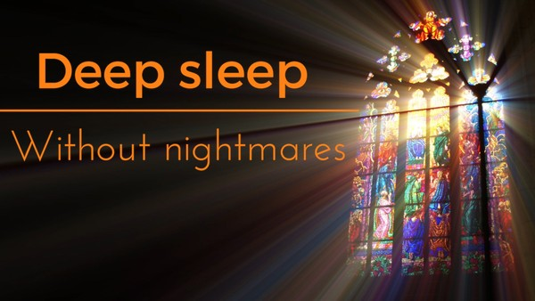 Deep sleep without nightmares a guided meditation for sleep and relaxation