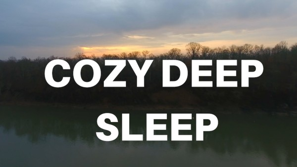 COZY DEEP SLEEP GUIDED MEDITATION ( music) DEEP FAST SLEEP HYPNOTIC MEDITATION