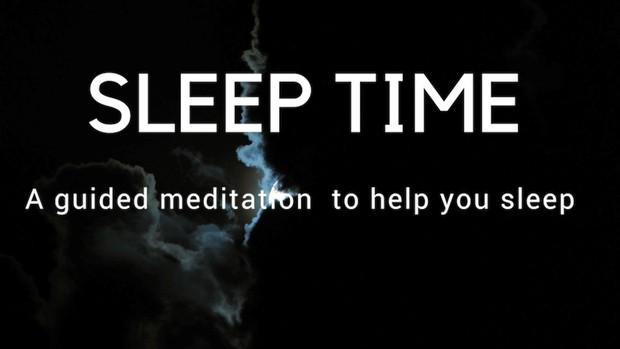 Sleep time A guided meditation for deep healing sleep