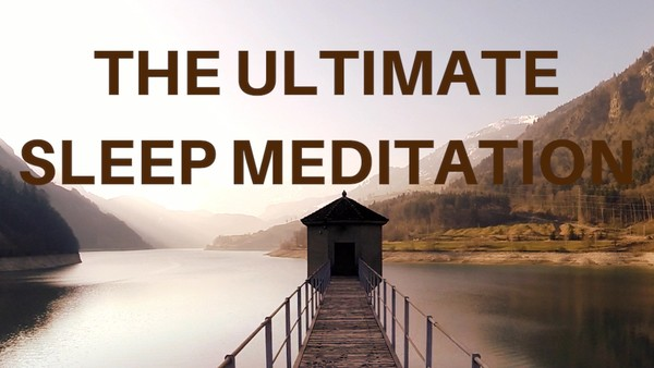 THE ULTIMATE SLEEP GUIDED MEDITATION (voice only) to help you fall deeply asleep fast
