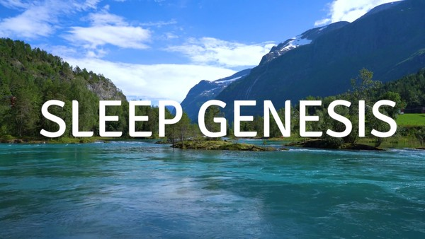 SLEEP GENESIS A guided meditation to help you sleep calmly peacefully & with tranquility