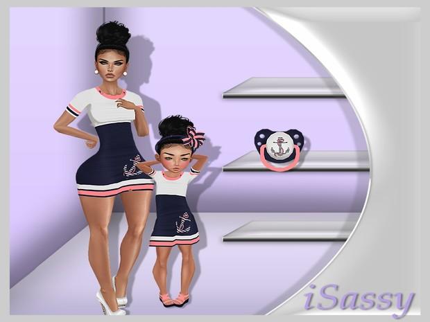Anchor Dress/Kids Bundle - PSD