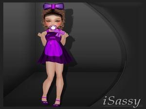 Kids Bear Dress - PNG
