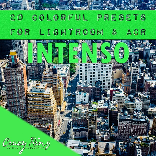 INTENSO COLLECTION The Crazy Ring Preset - For Lightroom and Camera Raw