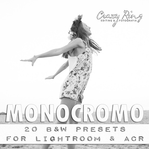 MONOCROMO COLLECTION The Crazy Ring Preset - For Lightroom and Camera Raw