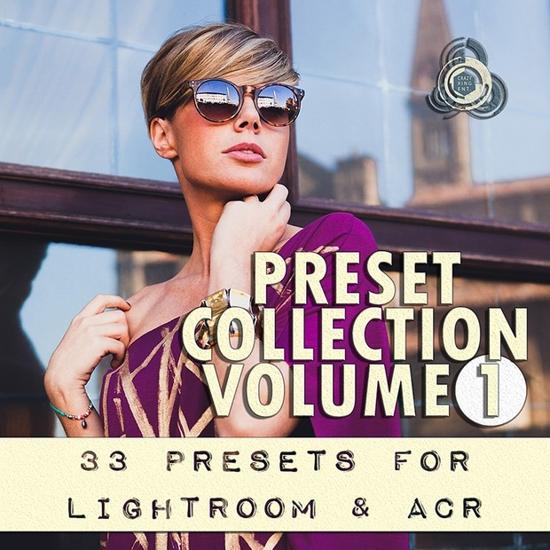 PRESET COLLECTION VOLUME 1 The Crazy Ring Preset - For Lightroom and Camera Raw
