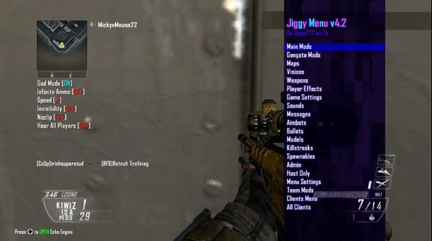 Black Ops 2: FFA Aimbot Mod Menu: 1 Hour + 45 Bonus Minutes